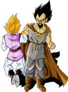 Dragon Ball Multiverse(King Vegeta) Killing A Varga