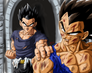 Dragon Ball Multiverse(Mystic Gohan) Warning Vegeta
