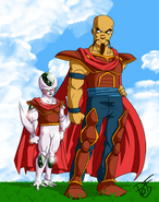 Dragon Ball Multiverse(Ice Kurima-True Form) With Chatterton