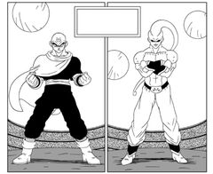 Buu fights Tien