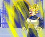 Dragon Ball Multiverse(Future Vegeta-Super Saiyan) Aura