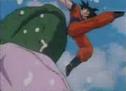 Goku kicks arbee