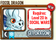 Fossil Dragon Requirements Socila Wars