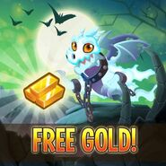 Gold free