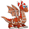 Gingerbread Dragon 2