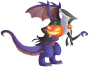 Halloween Dragon 3