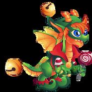 Xmas Elf Dragon 2