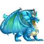 Aquamarine Dragon 3