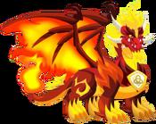 Pure Flame Dragon 3