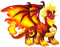 Pure Flame Dragon 3