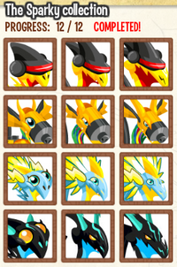 11) Sparky Collection