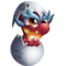 Red Egg Dragon 1