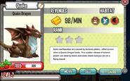 Dragon City - Quake Dragon lvl 7 on 5-14-14