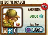 Detective Dragon in Store