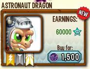 Astronaut Dragon in store