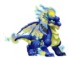 Blue Fire Dragon 2