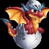 Red Egg Dragon 2