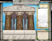 Olympus Island-Poseidon-Temple-Background