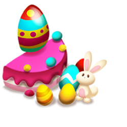 Easter Cake Piece 2