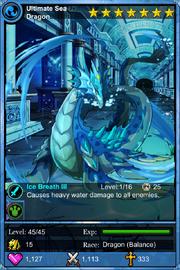 Ultimate Sea Dragon