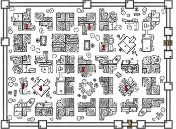 Feywall Mapa