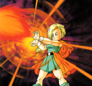 DQV - Bianca and a Fire spell