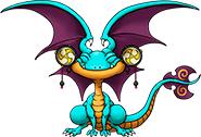 DQX - Smiling lizard