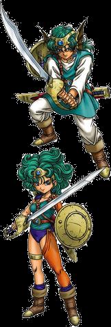DQIVDS - Hero-Heroine