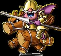 DQVII3DS - Wooden horseman