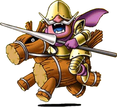 File:DQVII3DS - Wooden horseman.png