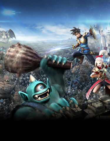 File:DQHTWTWBB - Luceus and Aurora battling Cyclops and other monsters.jpg