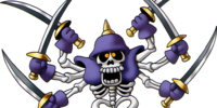 Skeleton swordsman (Dragon Quest III)
