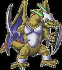DQX - Mandrake mercenary