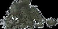 Dark sabrecat