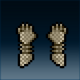 Sprite armor chain rusted hands