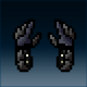 Sprite armor leather nightfang hands