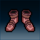 Sprite armor leather bloodied feet