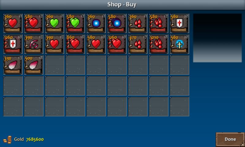 Shop 3 kera spells clr