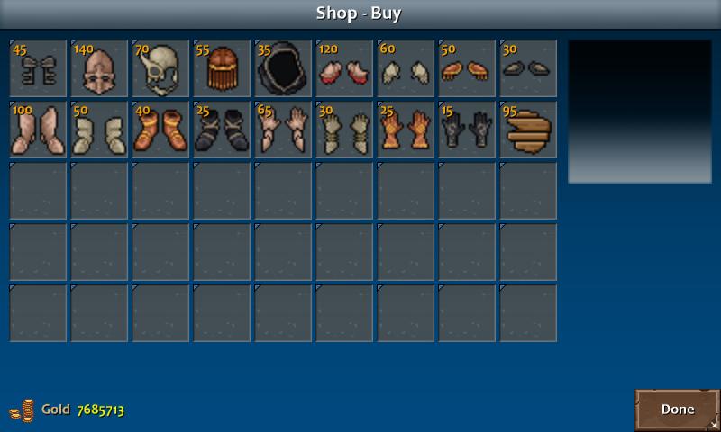 Shop 1 flint armor