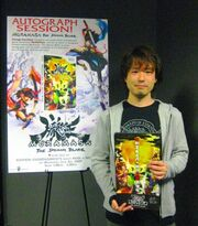 George Kamitani in autograph session for Muramasa