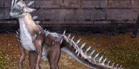 Frostspike Raptor Dragon