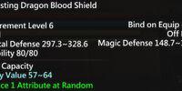 Everlasting Dragon Blood Shield