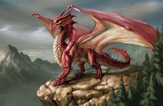 4e red dragon