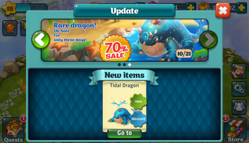 Tidal Dragon Update
