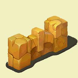 Yellow Stone FenceDecor