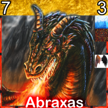 Creature DragonFire Abraxas