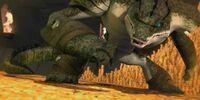 Leatherhead as Dragon ( TMNT 2012)