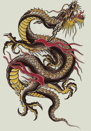 Chinese-dragon-black