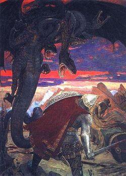 Slavic dragon