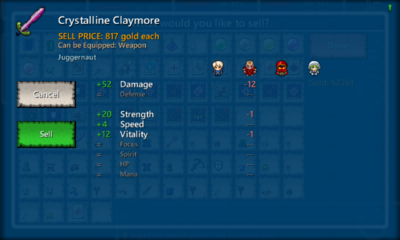 Crystalline Claymore